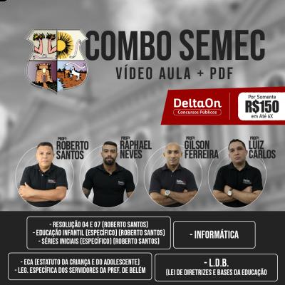 COMBO VIDEO + PDF - SEMEC-PA