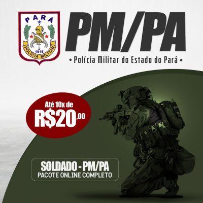 Pacote Soldado da PM/PA