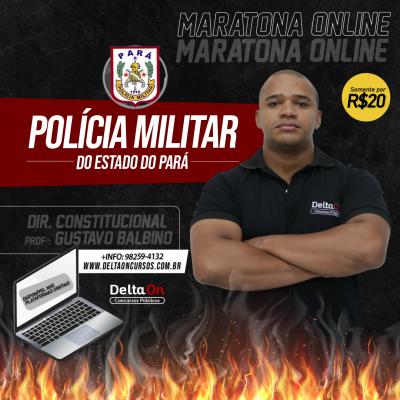 Maratona de Exercicios - Direito Constitucional PM/PA