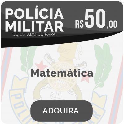 Matemática Soldado PM/PA 2019