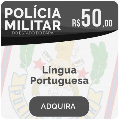 Língua Portuguesa Soldado PM/PA 2019