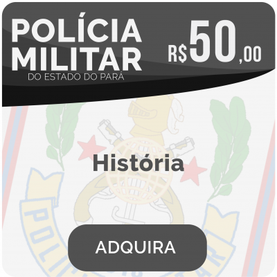 História Soldado PM/PA 2019